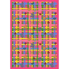 Just for Kids My Little Princess Pink Area Rug