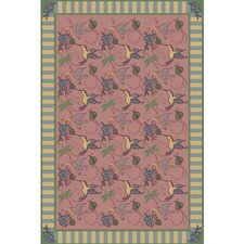 <strong>Joy Carpets</strong> Nature Rose Flights of Fantasy Novelty Rug