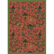 <strong>Joy Carpets</strong> Nature Rose Sweet Tweet Novelty Rug
