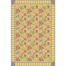 Nature Gold Flights of Fantasy Novelty Rug