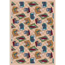 <strong>Joy Carpets</strong> Just for Kids Fabulous Fifties Kids Rug