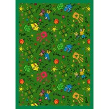 <strong>Joy Carpets</strong> Educational Scribbles Kids Rug