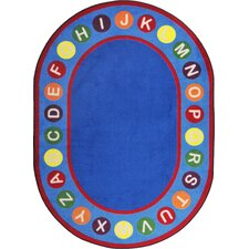 <strong>Joy Carpets</strong> Kid Essentials Alphabet Spots Kids Rug