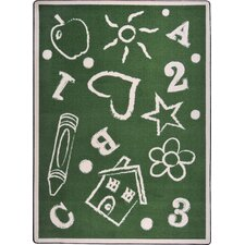 <strong>Joy Carpets</strong> Playful Patterns Kid's Art Kids Rug