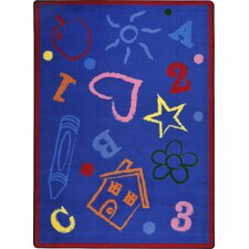 Playful Patterns Rainbow Kid's Art Kids Rug