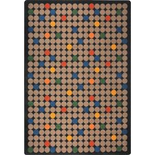 <strong>Joy Carpets</strong> Playful Patterns Spot On Kids Rug