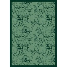 Nature Fancy Fiddlers Green Kids Rug