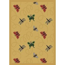 Nature Gold Wing Dings Novelty Rug