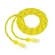 Use Peltor® NEXT™ Tri-Flange™ Triple Flange Acrylic Corded Earplugs With Cloth LiveWire Cord (100 Pair Per Box)