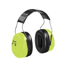 H10 Hi-Vis Extreme Series Over-The-Head Dual Cup Hearing Protector NRR 30 dB