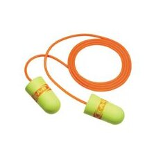 Use E-A-R® E-A-Rsoft™ SuperFit™ Tapered Foam And PVC Corded Earplugs (1 Pair Per Poly Bag, 200 Pair Per Box)