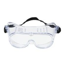 Economy Impact Goggles With Clear Frame And Clear Duralite® Lens