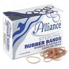 Sterling Ergonomically Correct Rubber Band, #16, 2-1/2 X 1/16, 2300 Bands/1 Lb Box