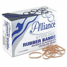 Sterling Ergonomically Correct Rubber Band, #31, 2-1/2 X 1/8, 1200 Bands/1Lb Box