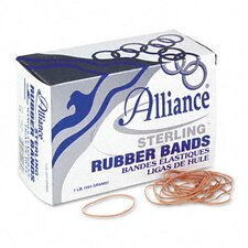 Sterling Ergonomically Correct Rubber Bands, #18, 3 X 1/16, 1900 Bands/1Lb Box