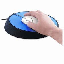 "Wrist Aid Ergonomic Circular Mouse Pad, 9"" Dia."