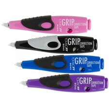 MONO Grip Correction Tape Pen Dispenser (4 Pack)