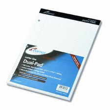 Evidence Pad, Dual College/Med Ruled, 8-1/2 X 11 3/4, 100 Sheets