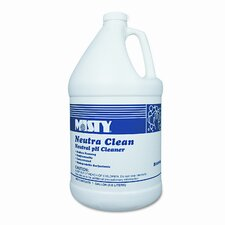 Misty Neutra Clean Floor Cleaner, Fresh Scent, 1 Gal. Bottle, 4/Carton
