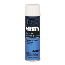 Misty Glass & Mirror Cleaner with Ammonia, 19 Oz. Aerosol