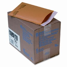 Jiffylite Self-Seal Mailer, Side Seam, #00, Golden Brown, 25/carton