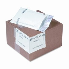Jiffy TuffGard Self-Seal Cushioned Mailer, Side Seam, #000, White, 25/carton