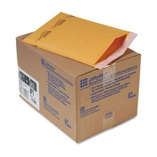 Jiffylite Self-Seal Mailer, Side Seam, #1, Golden Brown, 25/carton