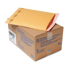Jiffylite Self-Seal Mailer, Side Seam, #5, Golden Brown, 25/carton
