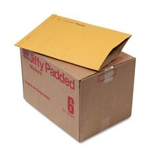 Jiffy Padded Mailer, Side Seam, #6, 50/Carton
