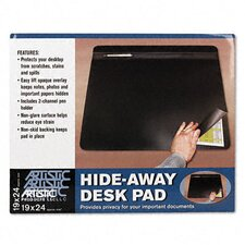 Hide-Away Pvc Desk Pad, 24 X 19