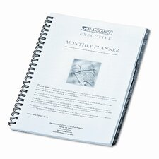 Executive Monthly Planner Refill, 6-7/8 x 8-3/4, 2013