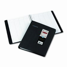 Group Practice Undated Daily Appointment Book, 8-1/2 x 11, Black, 2014