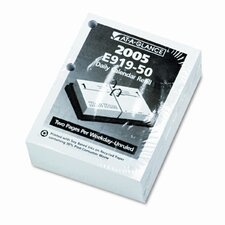 Compact Unruled Daily Desk Calendar Refill, 3w x 3-3/4h, 2013