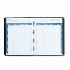 Monthly Pocket Planner, Unruled, 3-3/4 x 6, Black, 2013