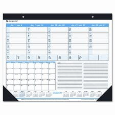 Weekly/Monthly Desk Pad/Wall Calendar, 22 x 17, 2013