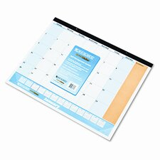 QuickNotes 13-Month Desk Pad/Wall Calendar, 22 x 17, 2013