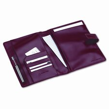 Franklincovey Simulated Leather Wirebound Planning System Cover, 5-1/2 X 8-1/2
