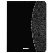 Executive Weekly/Monthly Planner with Hourly Appointments, 6-7/8 x 8-3/4, Black, 2014/14
