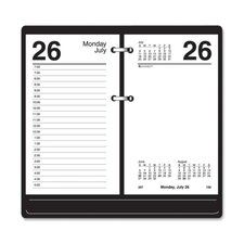 "Loose-leaf Desk Calendar Refill , 12 Months Jan/Dec, 3-1/2""x6"", WE, 2013"