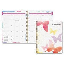 Watercolors Monthly Planner