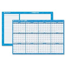 Erasable Yearly Horizontal Wall Planner