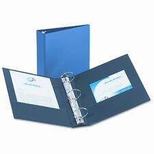 "Economy Round Ring Reference Binder, 3"" Capacity"