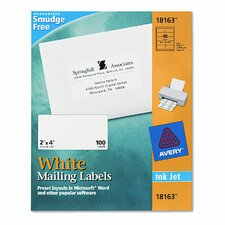 Shipping Labels 2 x 4 (100/Pack)