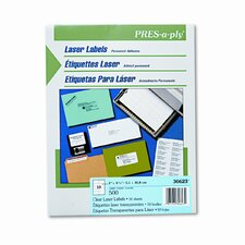 Pres-A-Ply Laser Address Labels, 500/Box