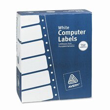 Dot Matrix Printer 3 Across Address Labels, 15000/Box