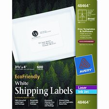 Ecofriendly Labels, 600/Box