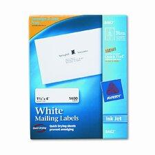 Easy Peel Inkjet Address Labels (1400/Box)