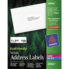 Ecofriendly Labels, 7500/Box