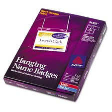 Neck Hanging-Style Flexible Badge Holders, 100/Box