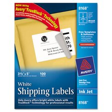 <strong>Avery Consumer Products</strong> Shipping Labels with Trueblock Technology, 100/Pack